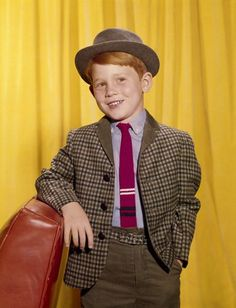 Ron Howard....wasn't he the cute little ginger?!  w.