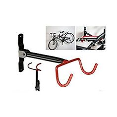 How to hang a bike from the ceiling pinterest organizations generic garage wall bicycle bike storage rack mount hanger hook holder with screws amazon solutioingenieria Gallery