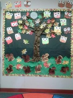 Fall Bulletin Board by Mrs. J