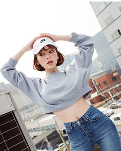 korean daily fashion trend ideas to try now 88 Ulzzang Korean Girl, Cute Korean Girl, Daily Fashion, Girl Fashion, Cute Korean Fashion, Looks Jeans, Foto Casual, Fashion Poses, Fashion Outfits