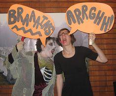 Zombie party idea
