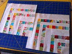 another fun block using tiny scraps. Grandma Field never threw away a scrapl. she would have loved this block Patchwork Quilting, Scrappy Quilts, Mini Quilts, Quilting Tutorials, Quilting Projects, Quilting Designs, Quilting Ideas, Patch Quilt, Quilt Block Patterns