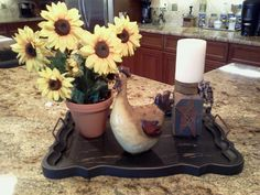 Americana/French country decorating
