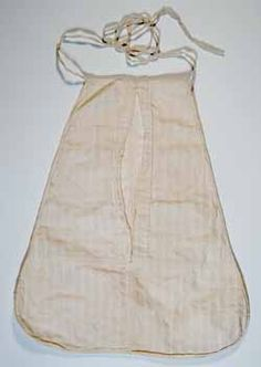 """his dimity pocket was owned by Abigail Adams in the late eighteenth or early nineteenth century. An accompanying note in the hand of Abigail's granddaughter, Elizabeth """"Lizzie"""" Coombs Adams, reads, """"Dimity pocket worn for 50 years (probably) by Mrs. Abigail Adams my Grandmother & wife of John Adams. All old ladies wore these pockets & carried their keys in them.""""  This Adams family artifact is a recent gift to the Massachusetts Historical Society."""