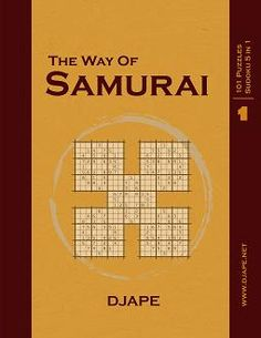 Samurai Sudoku, vol. 1. My bestselling book. It's been almost 6 years! :)    Puzzles are just like those from The Washington Post.    $11.20  http://www.amazon.com/dp/1441400974?tag=thehomeofperf-20