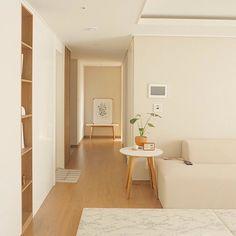 A Minimalistic pastel decor yet beautiful. Apartment Interior, House Design, Room Decor, Decor, Interior Design, Interior, Cozy Room, Home Decor, Living Room Designs