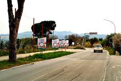 Affissione e stampa di manifesti sequenziali bifacciali committente TRE VALLI. #manifesti #bifacciali #affissioni  #Abruzzo Notaresco #Teramo