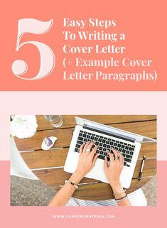 "How do you write a cover letter? Writing a cover letter is a pain in the best of circumstances. While your resume explains ""the what"" of your professional past, your cover letter provides ""the how"". Here's our 5-step method to writing a cover letter."