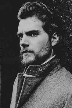 I just love Henry in the end of the Tudor days, long hair and a beard!  = )