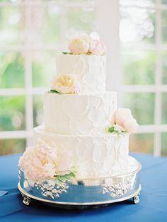 pink peony cake | Nancy Ray #wedding