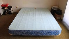 Bed Frame Mattress No Box Spring