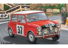 Mini Cooper Rallye (Winner Monte Carlo 1964)scala 1:24  Revell art. 07064