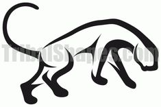 Google Image Result for http://www.tribalshapes.com/img/tattoos/panther-4.gif
