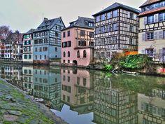 <b>La France, comme vous ne l Strasbourg, Petite France, Week End En Amoureux, Ardennes, Saint Louis, City Landscape, Destinations, Travelogue, Alsace