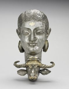 Iran, Sasanian, 7th-8th Century, silver, Overall: h. 19.10 cm (7 1/2 inches). Leonard C. Hanna, Jr. Fund 1964.96