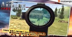 AMERICAN ARMY SNIPER - Great Army war and sniper shooting experience, Enjoy this 3D shooter & sniper game! Install on your ‪#‎Android‬ now: http://www.mobango.com/download-american-army-sniper-3d-games-android/?track=Q106X2179&cid=1953536
