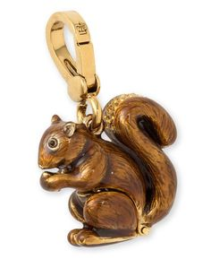 Juicy Couture squirrel charm is a cute charm to add a little touch of fall to your fashion accessories @SherriLippoldt @Mary Heffington