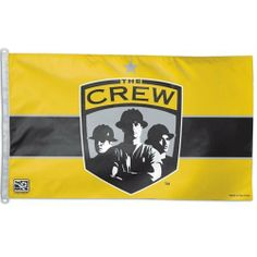 COLUMBUS CREW OFFICIAL LOGO 3FTX5FT BANNER FLAG by WinCraft. $29.94. 3' x 5'. 100% Polyester. Officially Licensed Columbus Crew Banner Flag. Unisex Adults. For Indoor Or Outdoor Use-Single Sided. Columbus Crew flags. This Columbus Crew flag measures 3' x 5' and is made of 100% Polyester fibers. Display your team proudly outside your home or indoors with this versatile indoor/outdoor banner. Flys with grommets (does not have a flagpole sleeve). Great for tailgating! F... Columbus Crew, Outdoor Banners, Tailgating, Indoor Outdoor, The Outsiders, Soccer, Flag, Outdoors, Sports
