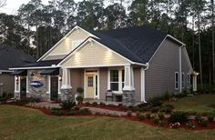 Mattamy Homes' Cypress Trails model home. #sunset
