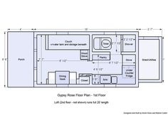 Tiny house on wheels plans 2 tiny house floor plans free best of tiny houses wheels . tiny house on wheels Best Tiny House, Micro House, Tiny House Cabin, Cabin Homes, Cottage House, Tiny House Layout, Tiny House Design, House Layouts, Tiny House Trailer Plans