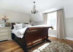 Bedroom Ideas Sleigh Bed emporium sleigh bed | furniture, antique brass and tufted bench