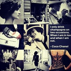 Every day is a fashion show and the world is the runway... Coco Chanel