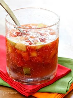 Colombian Sparkling Fruit Punch