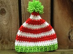 Hey, I found this really awesome Etsy listing at https://www.etsy.com/listing/215811507/crochet-pointy-elf-hat-made-to-order
