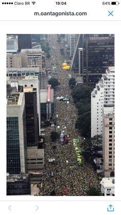 Brasil, São Paulo 13/3/16