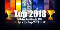 Le migliori classifiche del 2018!