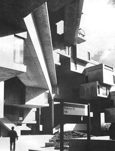 Habitat '67, Montreal, Quebec, Canada (Moshe Safdie, 1967)