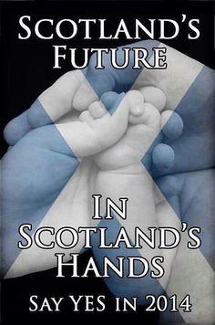 Scotland's future in Scotland's hands.