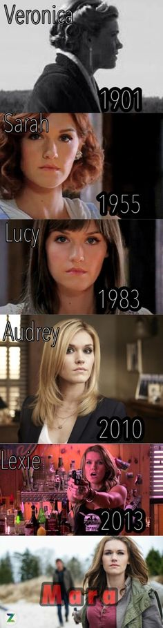 """lynsco13:Oh how this show is amazing! Many faces of I guess Mara! Lol no longer can I say, """"many faces of Audrey!"""" Lol"""