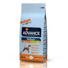 Animalerie  Advance Medium Adult pour chien  2 x 14 kg