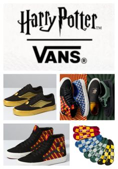 b547a1378 Harry Potter Fans Don't Miss out on Vans Harry Potter Exclusive Collection  #harrypotterfacts