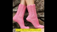 how to crochet socks for beginners step by step - YouTube
