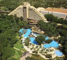 The five star Cascades Hotel which is located at the magnificent Sun City Resort in the North West Province of South Africa. Lots of good memories at this resort! Love this place ❤️ Tourism In South Africa, Sun City South Africa, Provinces Of South Africa, New Africa, Out Of Africa, Africa News, Africa Art, Africa Travel, Monuments