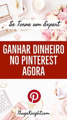 Ganhos Online, Pinterest Marketing, Marketing Digital, Blog, Happiness, Business, Make Money On Internet, Social Media, Notebooks