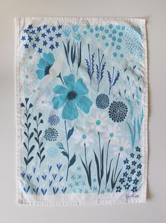 For your blue period...bet you won't feel so blue once you have this in your kitchen. From Lisa Rupp