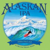 Who wouldn't want some Alaskan IPA after catching a wave?