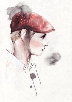 (c) Portuguese Illustrator Antonio Soares & Portuguese Fashion Designer Nuno Gama (collection Winter2013)