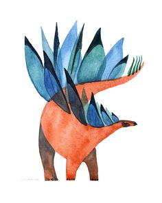 Illustration, Art and Comics by Levi Hastings Dinosaur Sketch, Dinosaur Drawing, Dinosaur Art, Cute Dinosaur, Dinosaur Posters, Animal Posters, Art And Illustration, Tyrannosaurus, Prehistoric Creatures