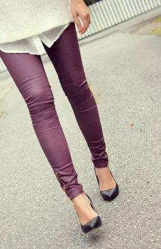 Plum Perfection skinny jeans #COTM
