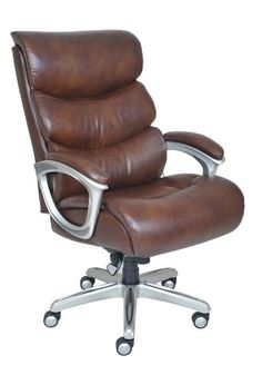 La Z Boy And Tall Jarvis Executive Chair Brown Comfortcore Layered Seating Soothing Body Pillows Description This