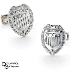 Honor the men and women that put their lives first by purchasing this pair of wonderful police badge cufflinks. A great gift for a rookie police officer or for a seasoned veteran Police Officer Gifts, Police Gifts, Police Humor, Law Enforcement Wife, Gifts For Cops, Cop Wife, Police Family, My Pocket, Music Gifts