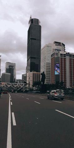 City Wallpaper, Iphone Background Wallpaper, Jakarta City, Indonesian Art, Capital City, Willis Tower, West Coast, Instagram Feed, Skyscraper