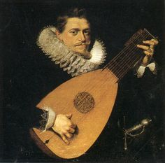 Peter Paul Rubens: man with a lute