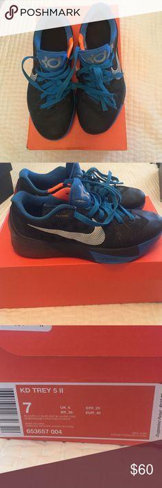 Buy Online Nike KD Trey 5 II Cheap sale Photo Blue Team Orange 6
