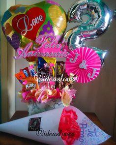 Arreglo y bouquet de rosas para aniversario ❤ Ofrecemos lo mejor para cada momento especial, ¡Pide tu arreglo personalizado! También adaptamos nuestros servicios a tu presupuesto, ¡No dejes de escribirnos! #unicornio #regalos #sorpresas #delivery #guarico #fiestas #regalosconamor #Sanjuandelosmorros #arreglos #globos #minipiñatas #toppers #unerg #novios #mejoresamigas #parejas #amigos #cumpleaños  #regalospersonalizados #arreglosconglobos #chile #argentina #uruguay #colombia #p