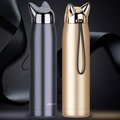 Feline Double-Wall Stainless Steel Vacuum Flask/ Thermos Bottle 320 ml